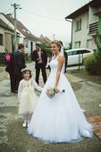 MADORA romantické svatební šaty, 38