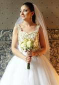 Originálne svadobné šaty, 36