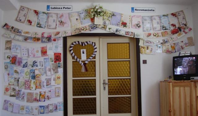 Čo sme mali prichystané na Deň D - Blahoželania - naša stena gratulantov:-)