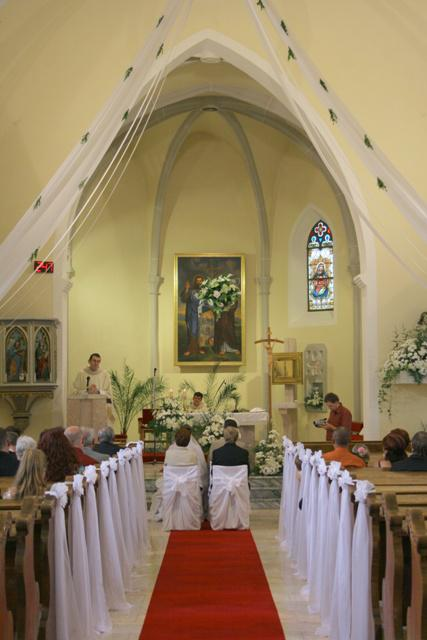 Čo sme mali prichystané na Deň D - Výzdoba v kostole