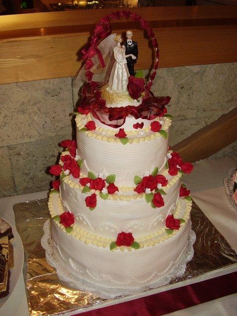 Čo sme mali prichystané na Deň D - Svadobná tortička 1