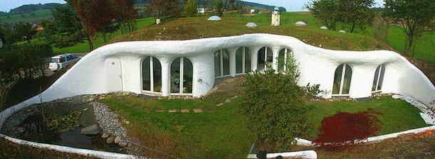 zemné domy Peter Vetsch, Nemecko