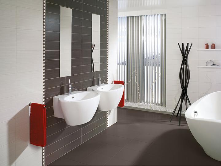 Čierno biele kúpeľne - Obrázok č. 21