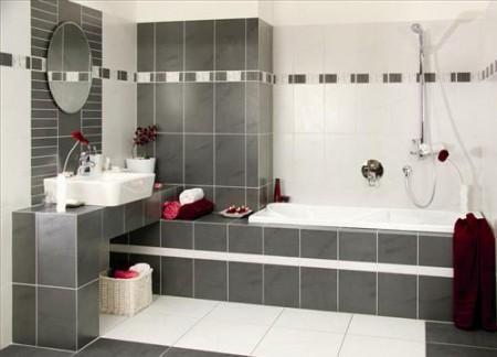 Čierno biele kúpeľne - Obrázok č. 15