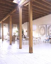 Martha Stewart Rodinný loft na Manhattane Jedálen