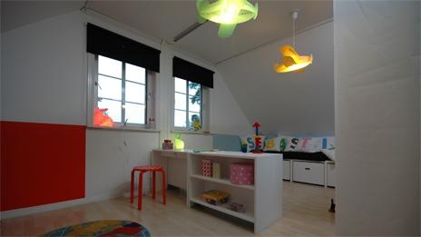Detská izba pre dvoch - Pohlad do Sebastianovej tyrkysovej časti