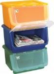 na papier, plasty a sklo je možné použíť takéto triediče a umiestniť ich hoci do horných skriniek