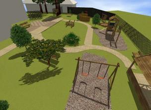 Tak toto je konečný variant-prvkami spojenie oboch predošlých a tematika- hrad a rytieri