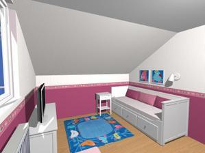 Podkrovna izba pre princeznu