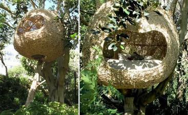 visiace hniezda na ležanie