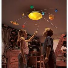 OSVETLENIE: Lampa- slnečná sústava... zdá sa, že bola vyrobená ešte predtým, ako Plutu odobrali status planéty :DDD