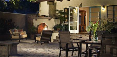 ... veranda namiesto obývačky...