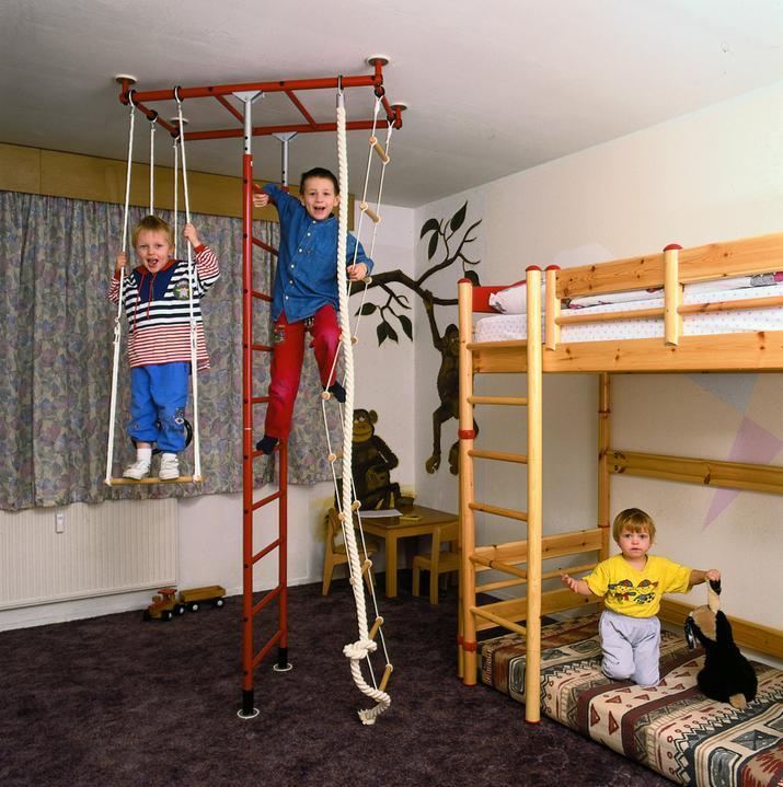 Jeblinkyne inšpirácie - chlapci maju opičí syndrom ,niekedy treba aj v panelaku zaobstarat aj ked neviem nakolko je to bezpecne pre mensie deti