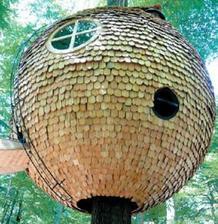 """""""Soví"""" domček (Nicholas Von der Bosch, Holzhausen, Westfalen, Germany) má tiež svoje video- postup výstavby... odkaz nan dole... ."""