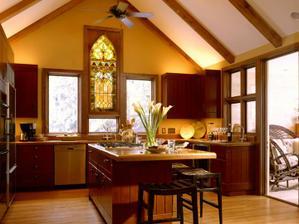 Niekedy vitráž určuje interiér