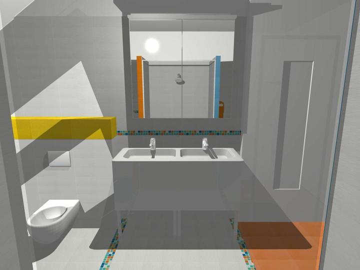 Kúpeľne - Rako: Orchidea a mozaika vidrepur