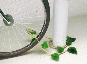 aj reťaz na bicykel sa zazelenala