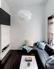 Menší tyrkysovy byt