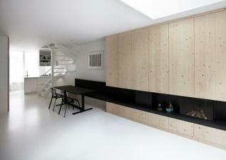 Obloženie drevom ...  minimalizmus v kombinácii s drevom je  príjemný...