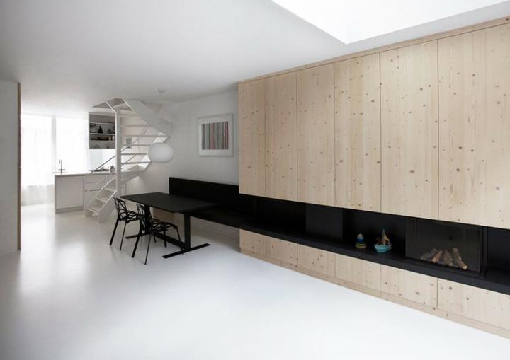 Krby - Obloženie drevom ...  minimalizmus v kombinácii s drevom je  príjemný...