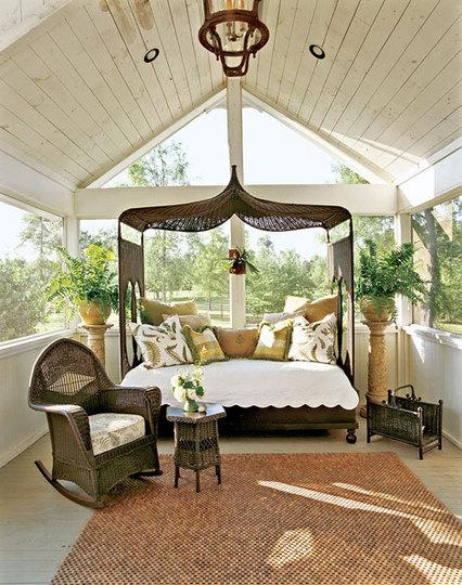 O verande (a spol) - biela a tmavohnedá