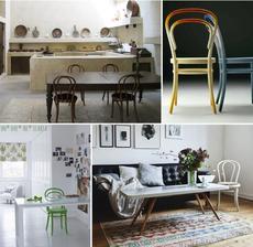 Stoličky pestrých farieb :-) 14 a 18