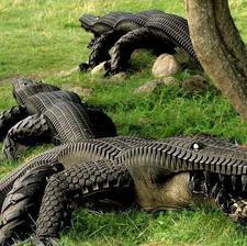 pneumatikoví krokodíli