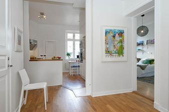 Linnéstadten apartment, Švédsko