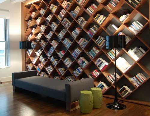 Zaujímavé interiéry z celého sveta - skvelá knižnica :)