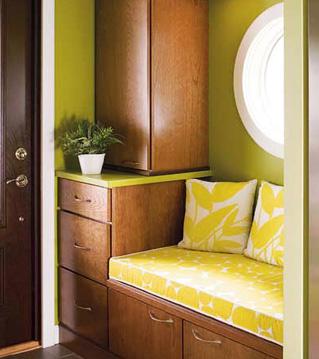 Ako si staviame sen - inšpirácie na interiér - vstupna chodbicka s lavickou, perfektne riesenie, urcite zrealizujeme :)