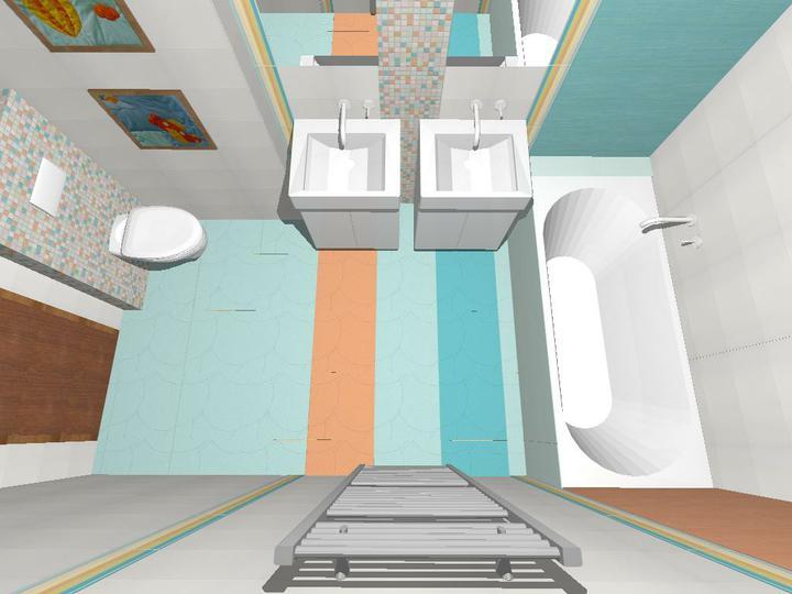 Kúpeľne - Rako: Frostica (detská kúpeľňa pre dievča a chlapca)