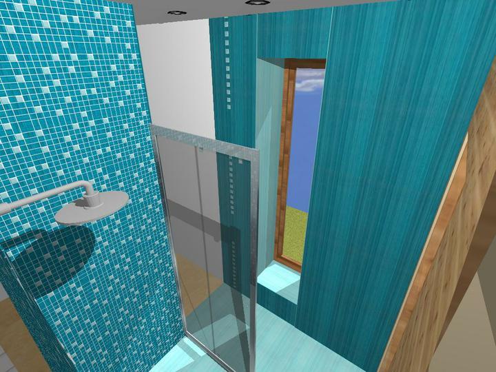 Kúpeľne - Paradyz: Sensual art (sprcha a sauna)