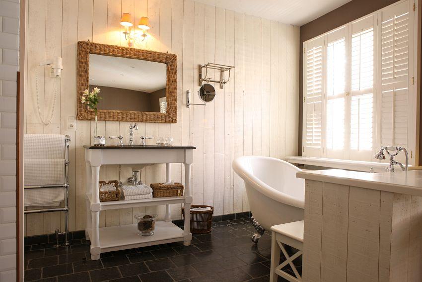 Vidiecke kúpeľne - alebo prútie...