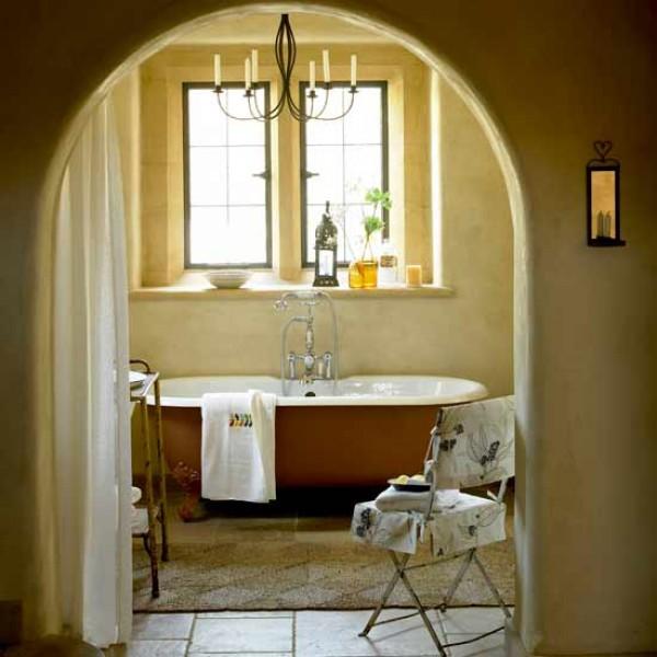Vidiecke kúpeľne - s benatskym či marockym štukom...