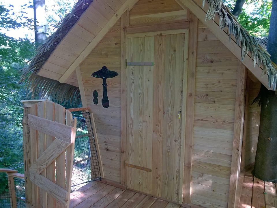 Stromové domčeky - A v tomto môže prenocovať ktokoľvek z nás- nový projekt Mestských lesov Bratislava na Kačíne :-)