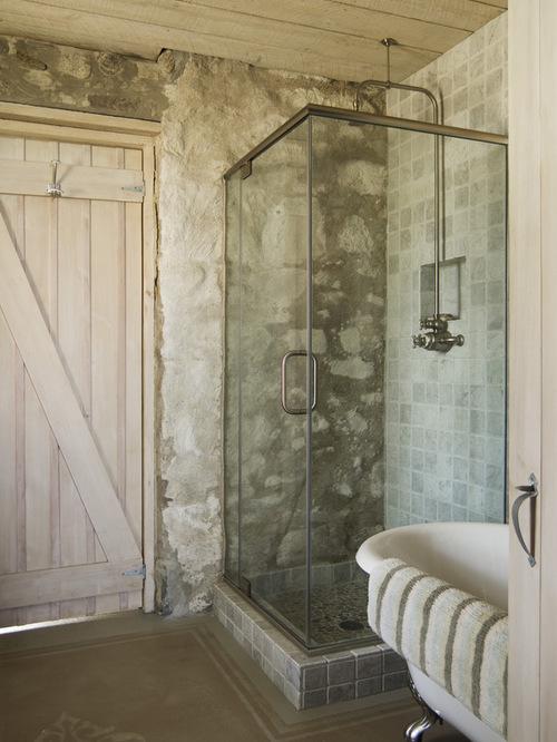 Vidiecke kúpeľne - Kamenné steny