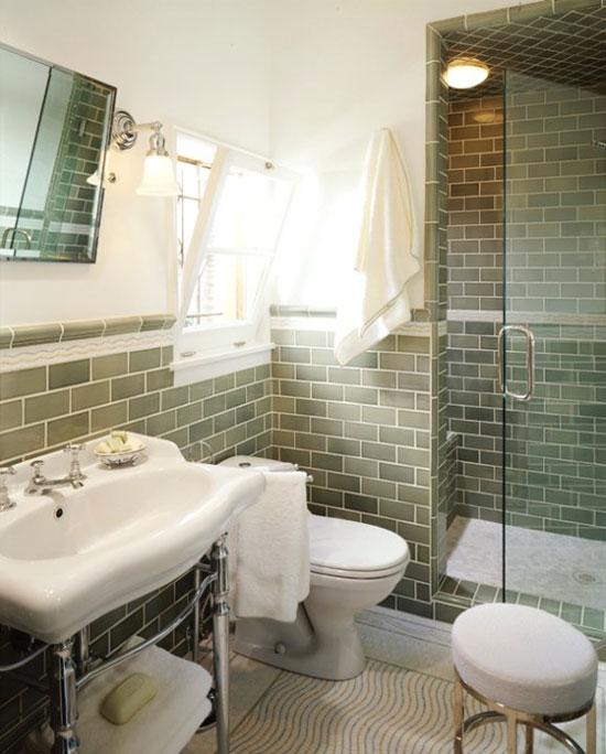 Vidiecke kúpeľne - Zemité farby