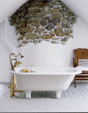 Vidiecke kúpeľne - Alebo len trochu kameňov :-)