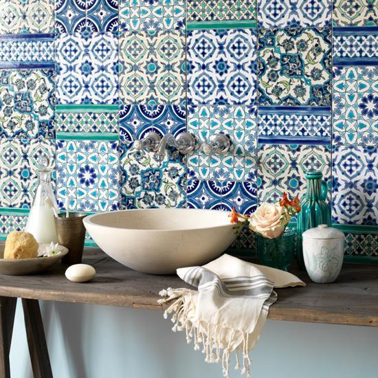Vidiecke kúpeľne - Niečo z Maroka ... súťaž- nájdi batériu !