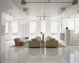 USA- loft zberateľa umeleckých diel