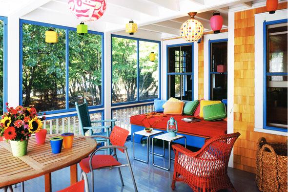 O verande (a spol) - Veľmi odvážne :-D ...interiérový dizajner svetoveho mena Thomas Jayne