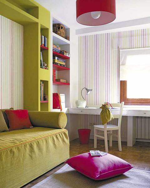 Ako si staviame sen - inšpirácie na interiér - krasne farby do dievcenskej izbicky