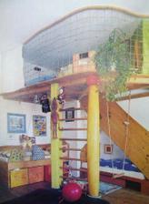 Takto si predstavujem detský raj... schody su to vzadu, rebrina je len tak