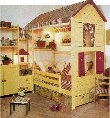 Detské izby  inšpirácie - DOMČEKY ... sú ďalším obľúbeným motívom