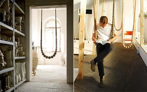 Interiérové hojdačky a siete - gorálky :-)