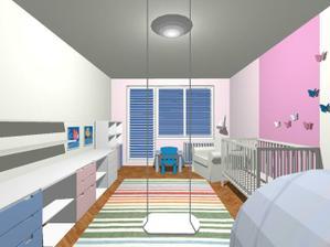 Moj návrh na izbičku pre ročné dievčatko
