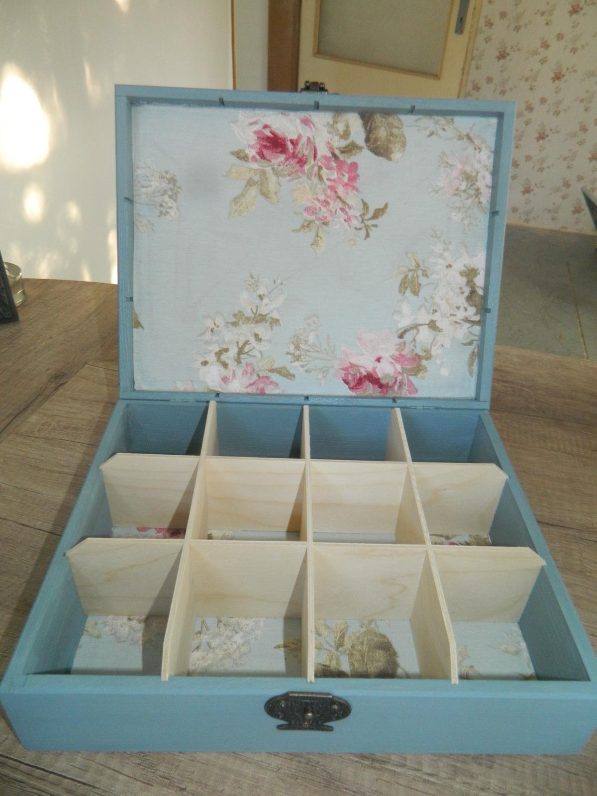 Krabička na čaj - Obrázok č. 2
