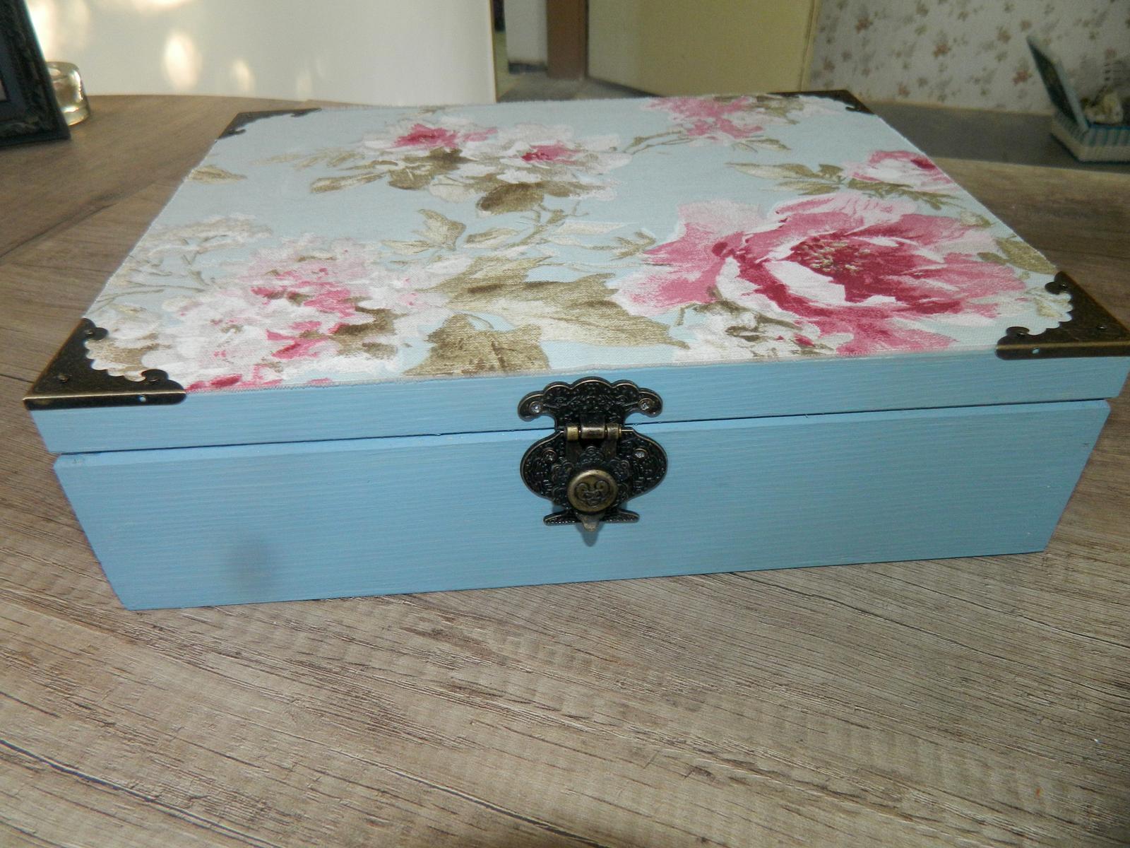 Krabička na čaj - Obrázok č. 3