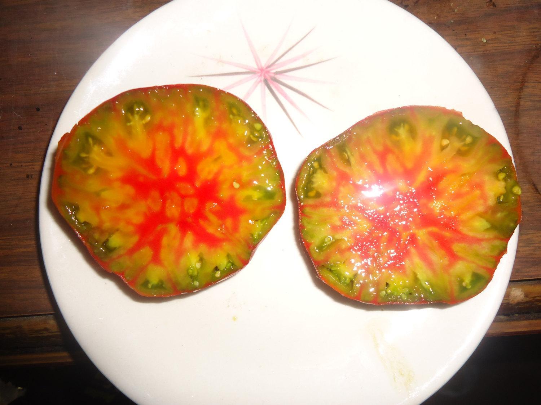 Paradajka ananas noire - Obrázok č. 1