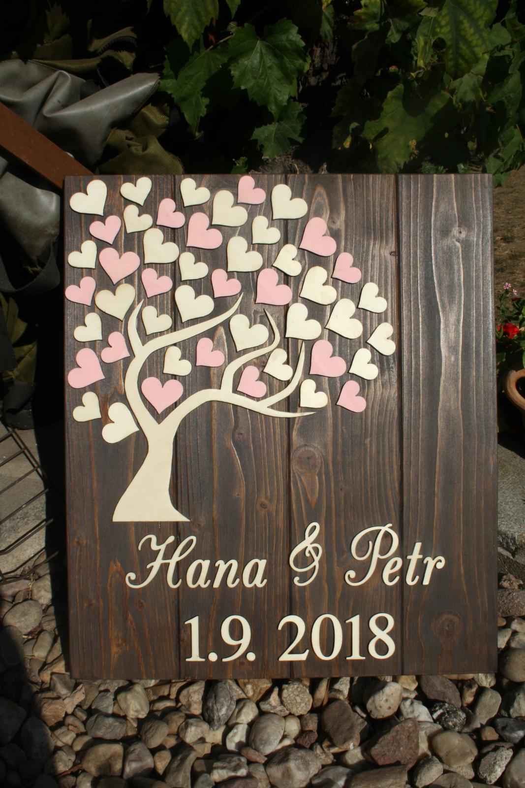 Kniha hostů / Svatební strom - Obrázek č. 2